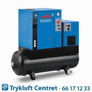 Skruekompressor RLR 300-10 T 200 DD