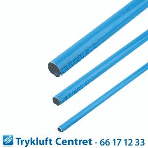 Blå Aluminiumsrør - D 50 Længde6000 mm