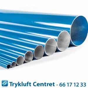Blå rør D158 - længde 5700 mm