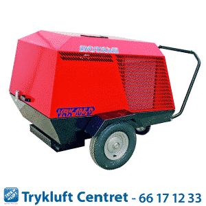 ROTAIR VRK 185 Diesel 12 bar med sandblæsningskit