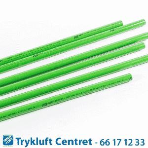 Grønt rør D25 - længde 5700 mm